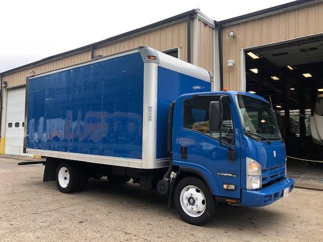 Medium Duty Box Truck-Light and Medium Duty Trucks-Isuzu-2015-NPR EFI-BRAINTREE-MA-104,524 miles-$23,500