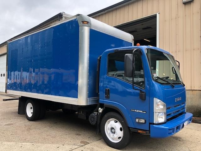 Medium Duty Box Truck-Light and Medium Duty Trucks-Isuzu-2015-NPR EFI-BRAINTREE-MA-115,835 miles-$21,750