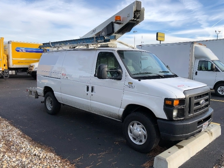 Bucket Truck-Specialized Equipment-Ford-2014-E350-COLUMBUS-OH-162,244 miles-$26,500