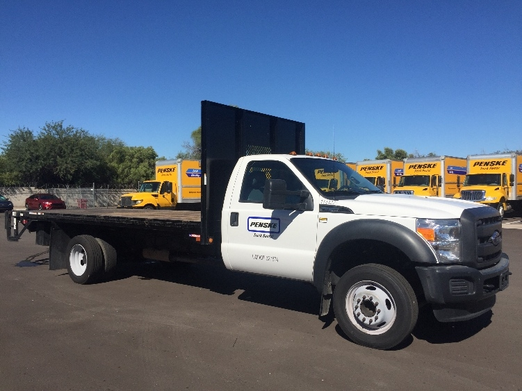 Flatbed Truck-Specialized Equipment-Ford-2015-F450-PHOENIX-AZ-63,217 miles-$33,500