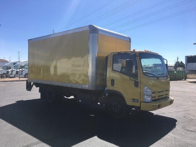 Medium Duty Box Truck-Light and Medium Duty Trucks-Isuzu-2015-NQR-AURORA-CO-118,836 miles-$29,750