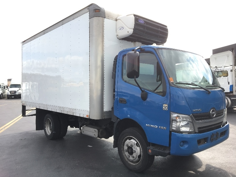 Reefer Truck-Light and Medium Duty Trucks-Hino-2015-195-TORRANCE-CA-109,400 miles-$45,250