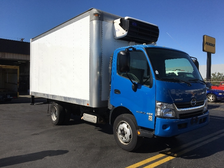 Reefer Truck-Light and Medium Duty Trucks-Hino-2015-195-TORRANCE-CA-113,663 miles-$44,750