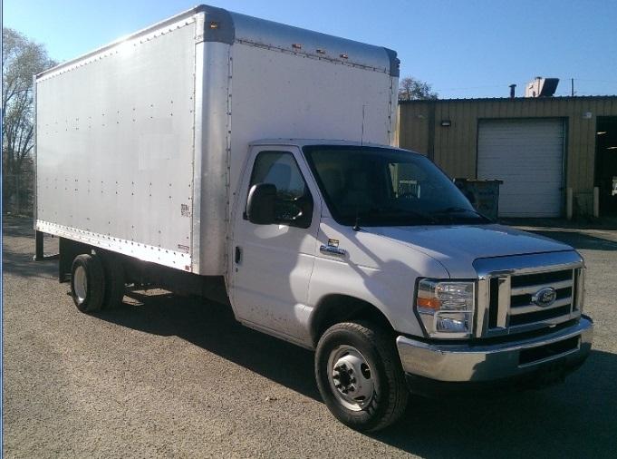 Light Duty Box Truck-Light and Medium Duty Trucks-Ford-2014-E450-YPSILANTI-MI-130,110 miles-$19,000