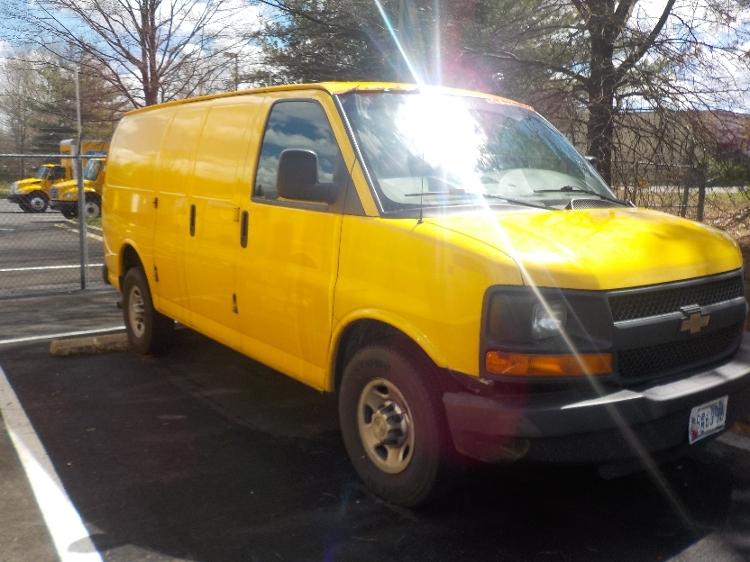 Cargo Van (Panel Van)-Light and Medium Duty Trucks-Chevrolet-2014-G23405-CAPITOL HEIGHTS-MD-81,736 miles-$17,000