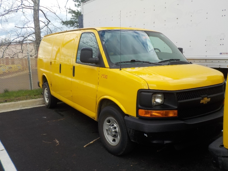 Cargo Van (Panel Van)-Light and Medium Duty Trucks-Chevrolet-2014-G23405-CAPITOL HEIGHTS-MD-121,162 miles-$13,750