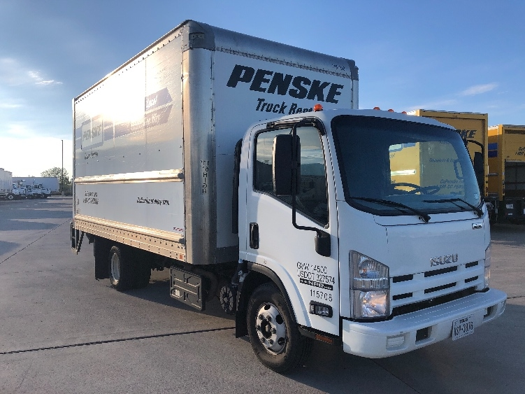 Medium Duty Box Truck-Light and Medium Duty Trucks-Isuzu-2015-NPR-ARLINGTON-TX-102,955 miles-$31,000
