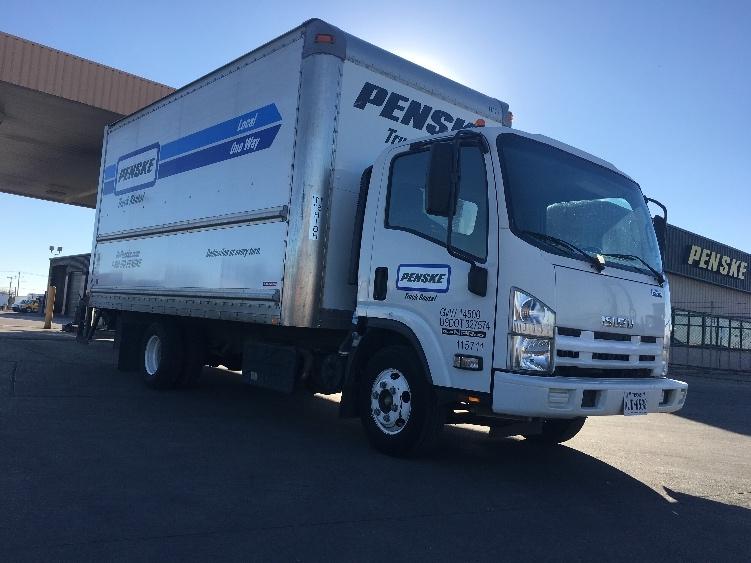 Medium Duty Box Truck-Light and Medium Duty Trucks-Isuzu-2015-NPR-ARLINGTON-TX-103,456 miles-$32,750
