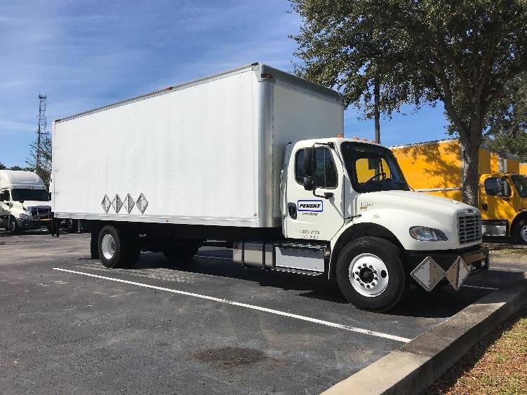 Medium Duty Box Truck-Light and Medium Duty Trucks-Freightliner-2015-M2-LAKELAND-FL-20,369 miles-$59,250