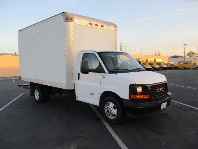 Light Duty Box Truck-Light and Medium Duty Trucks-GMC-2015-Savana G33803-TORRANCE-CA-75,850 miles-$28,500