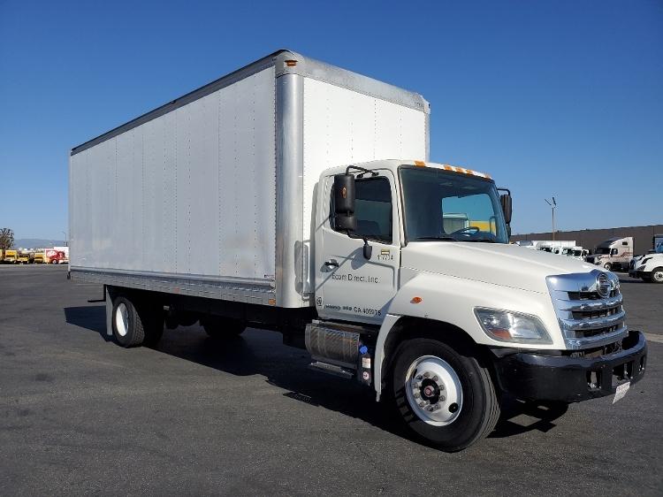 Medium Duty Box Truck-Light and Medium Duty Trucks-Hino-2015-268-TORRANCE-CA-76,043 miles-$61,500
