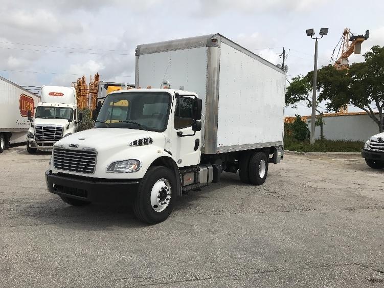 Medium Duty Box Truck-Light and Medium Duty Trucks-Freightliner-2015-M2-POMPANO BEACH-FL-45,121 miles-$55,250