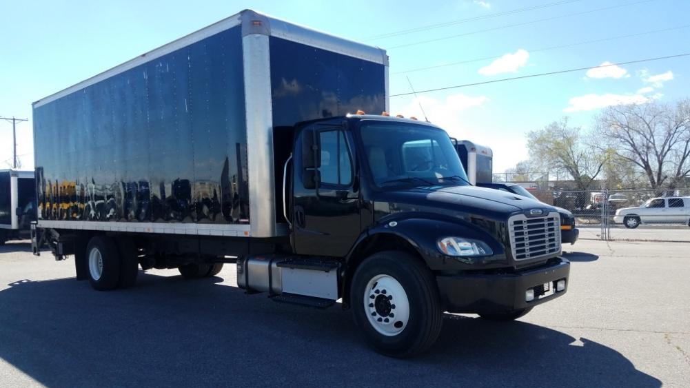 Medium Duty Box Truck-Light and Medium Duty Trucks-Freightliner-2015-M2-ALBUQUERQUE-NM-104,132 miles-$55,750