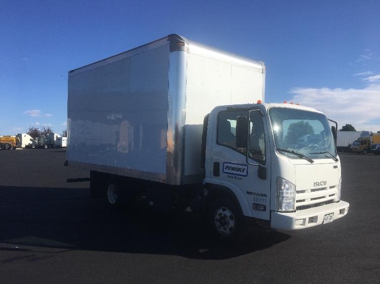 Medium Duty Box Truck-Light and Medium Duty Trucks-Isuzu-2015-NPR-DENVER-CO-53,796 miles-$42,500