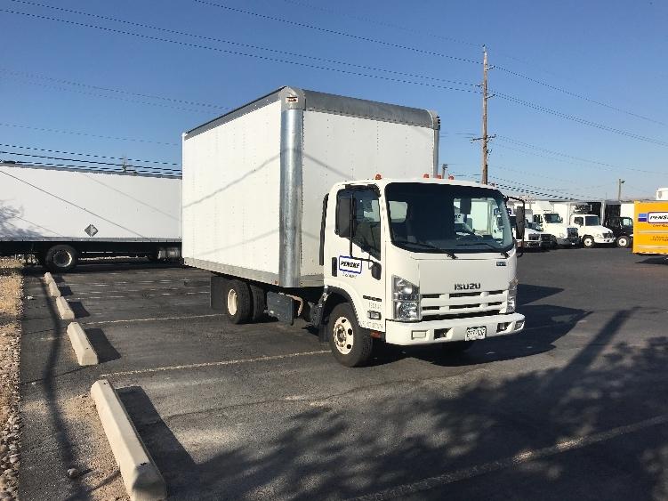 Medium Duty Box Truck-Light and Medium Duty Trucks-Isuzu-2015-NPR-ALBUQUERQUE-NM-115,152 miles-$31,750