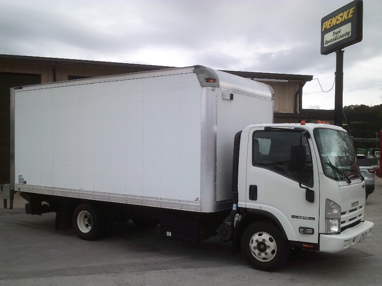 Medium Duty Box Truck-Light and Medium Duty Trucks-Isuzu-2015-NPR-JACKSON-TN-114,338 miles-$32,750