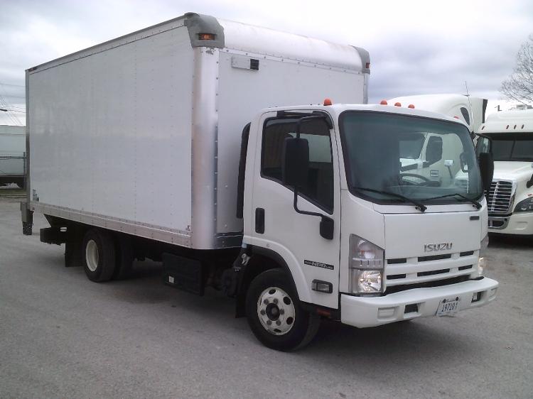 Medium Duty Box Truck-Light and Medium Duty Trucks-Isuzu-2015-NPR-JACKSON-TN-189,830 miles-$22,250