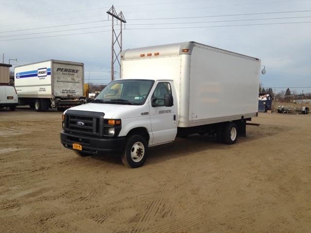 Light Duty Box Truck-Light and Medium Duty Trucks-Ford-2015-E350-ERIE-PA-120,768 miles-$20,750