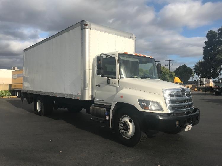 Medium Duty Box Truck-Light and Medium Duty Trucks-Hino-2015-268-TORRANCE-CA-92,402 miles-$61,250