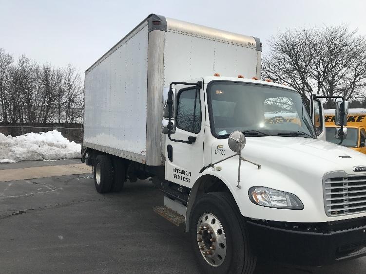 Medium Duty Box Truck-Light and Medium Duty Trucks-Freightliner-2015-M2-HARRISBURG-PA-128,489 miles-$48,250