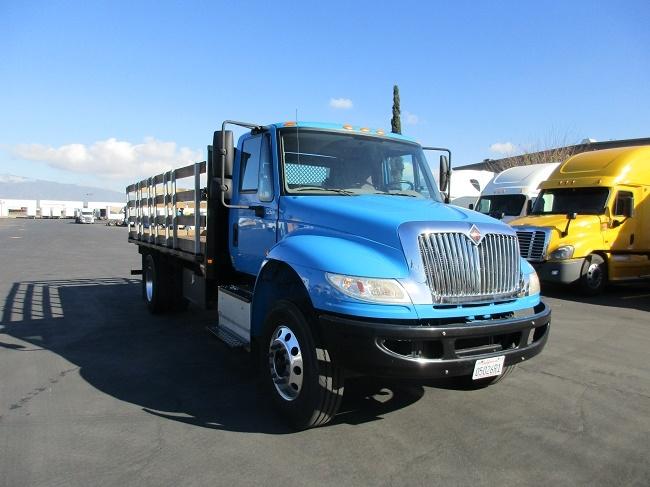 Flatbed Truck-Light and Medium Duty Trucks-International-2016-4300-TORRANCE-CA-71,981 miles-$59,500