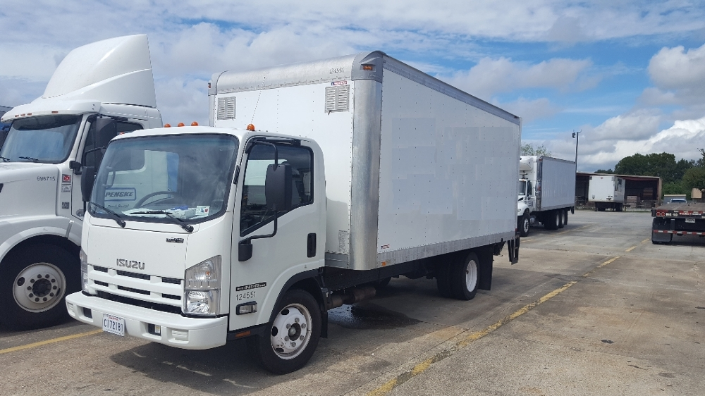 Medium Duty Box Truck-Light and Medium Duty Trucks-Isuzu-2015-NPR EFI-HAMMOND-LA-30,357 miles-$38,250