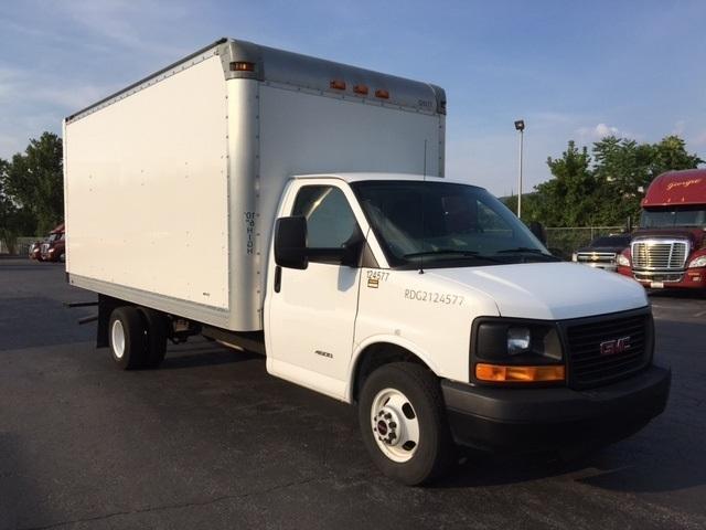 Light Duty Box Truck-Light and Medium Duty Trucks-GMC-2015-Savana G33903-READING-PA-123,908 miles-$21,500