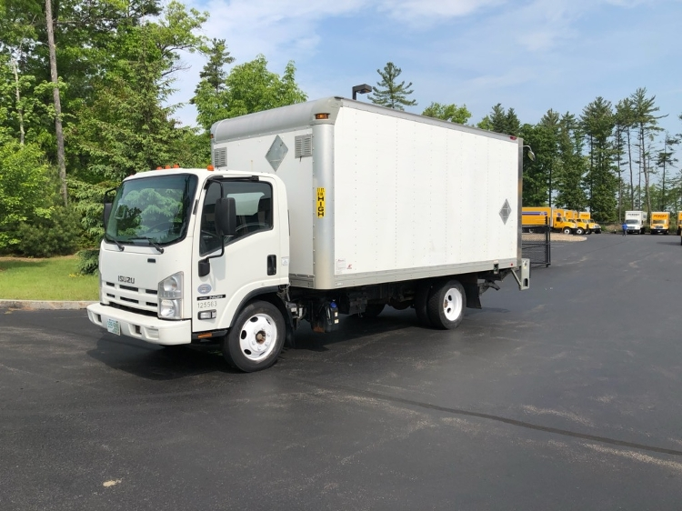 Medium Duty Box Truck-Light and Medium Duty Trucks-Isuzu-2015-NQR-HUDSON-NH-167,329 miles-$25,750