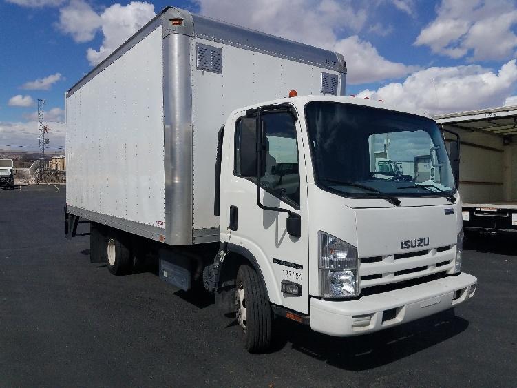 Medium Duty Box Truck-Light and Medium Duty Trucks-Isuzu-2015-NPR-ALBUQUERQUE-NM-46,298 miles-$40,250