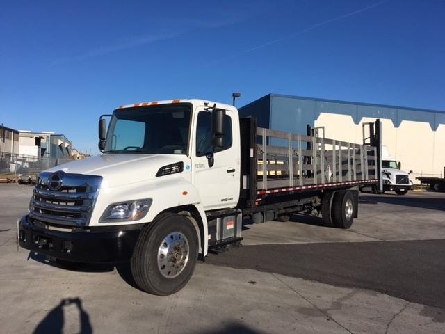 Flatbed Truck-Light and Medium Duty Trucks-Hino-2016-268-HARAHAN-LA-36,870 miles-$71,750