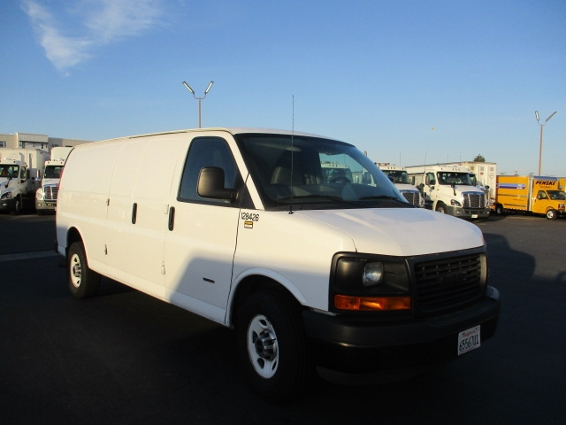 Cargo Van (Panel Van)-Light and Medium Duty Trucks-GMC-2015-Savana G33705-TORRANCE-CA-61,723 miles-$26,000