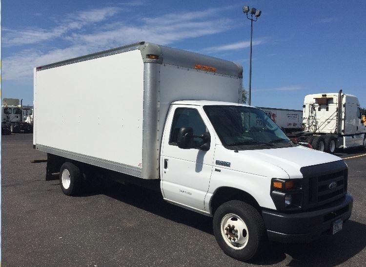Light Duty Box Truck-Light and Medium Duty Trucks-Ford-2015-E450-ROSEVILLE-MN-110,022 miles-$20,750