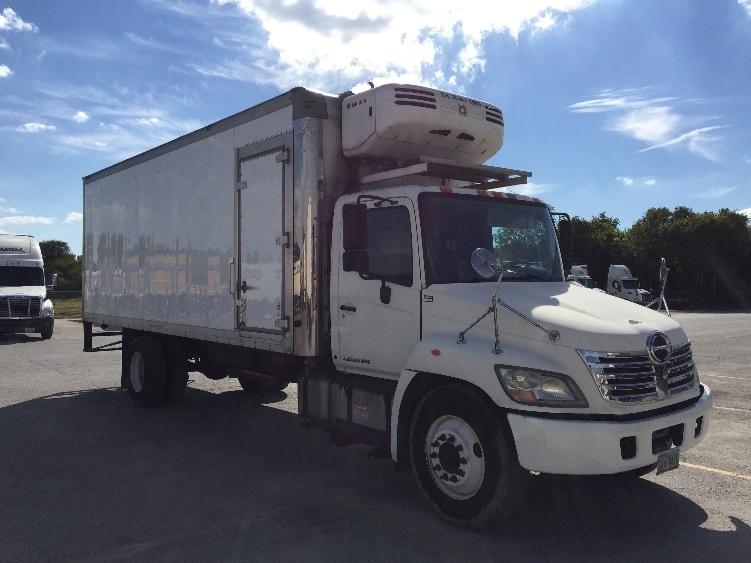 Reefer Truck-Light and Medium Duty Trucks-Hino-2010-268-SAN ANTONIO-TX-226,589 miles-$34,250