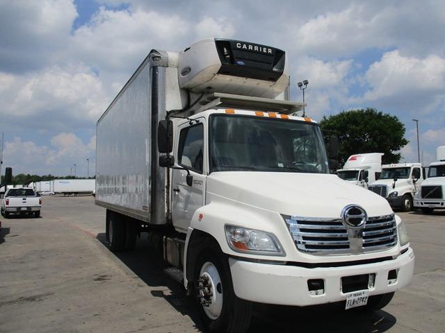 Reefer Truck-Light and Medium Duty Trucks-Hino-2010-268-DALLAS-TX-267,225 miles-$24,250