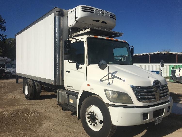 Reefer Truck-Light and Medium Duty Trucks-Hino-2010-268-DALLAS-TX-367,632 miles-$21,500
