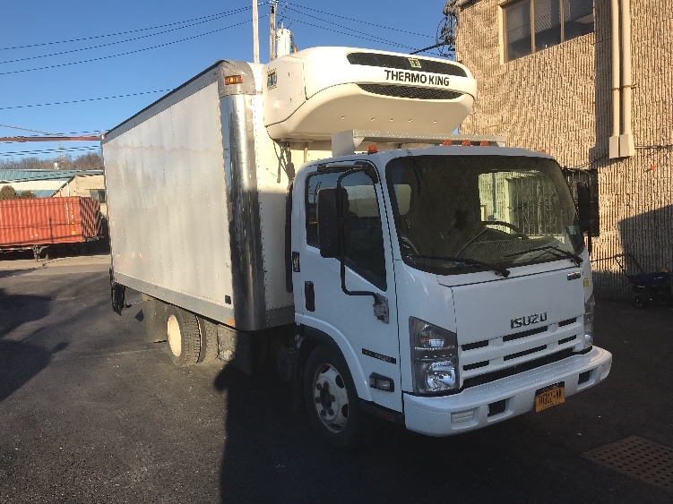 Reefer Truck-Light and Medium Duty Trucks-Isuzu-2015-NQR-ELMSFORD-NY-107,022 miles-$38,000