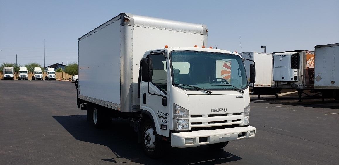 Medium Duty Box Truck-Light and Medium Duty Trucks-Isuzu-2015-NPR EFI-PHOENIX-AZ-121,238 miles-$32,500