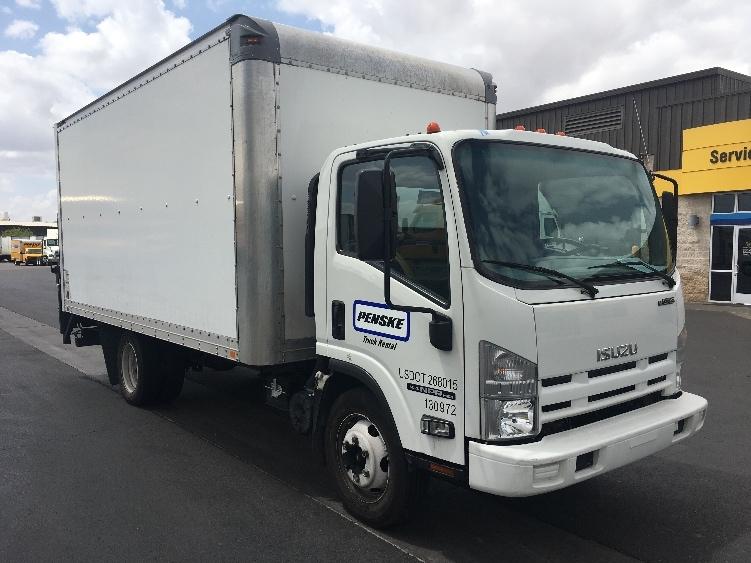 Medium Duty Box Truck-Light and Medium Duty Trucks-Isuzu-2015-NPR EFI-PHOENIX-AZ-118,893 miles-$31,750