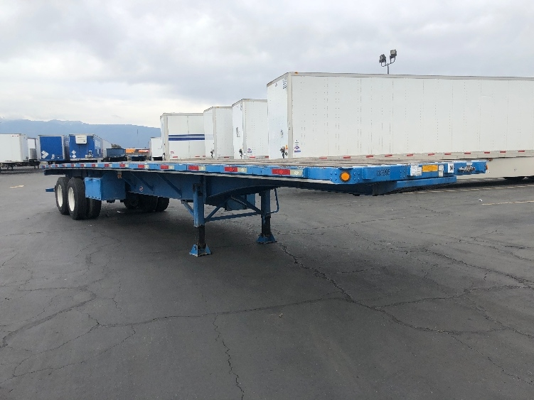 Flatbed Trailer-Semi Trailers-Utility-2016-Trailer-FONTANA-CA-46,639 miles-$18,750