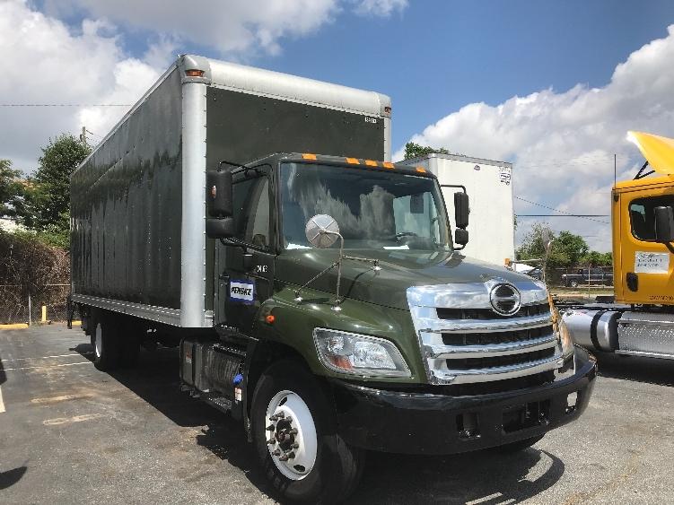 Medium Duty Box Truck-Light and Medium Duty Trucks-Hino-2016-268-FOREST PARK-GA-124,320 miles-$57,250