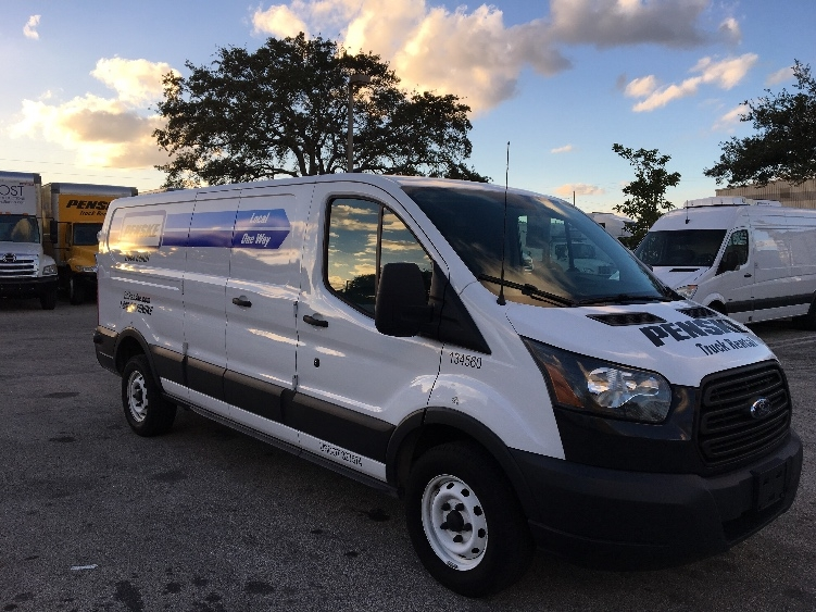 Cargo Van (Panel Van)-Light and Medium Duty Trucks-Ford-2015-TRAN250-POMPANO BEACH-FL-58,418 miles-$22,750