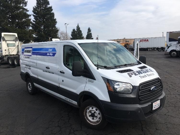 Cargo Van (Panel Van)-Light and Medium Duty Trucks-Ford-2015-TRAN250-SACRAMENTO-CA-95,826 miles-$22,250