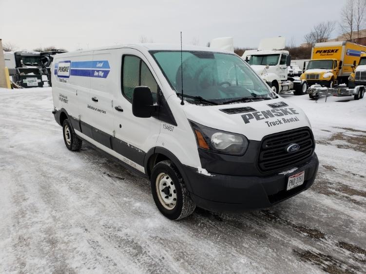 Cargo Van (Panel Van)-Light and Medium Duty Trucks-Ford-2015-TRAN250-YOUNGSTOWN-OH-89,939 miles-$19,750
