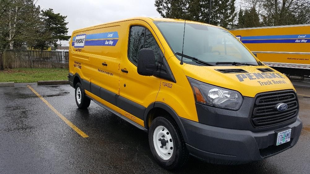 Cargo Van (Panel Van)-Light and Medium Duty Trucks-Ford-2015-TRAN250-PORTLAND-OR-83,022 miles-$19,500