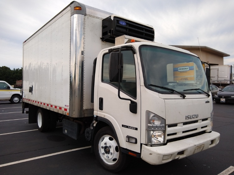 Reefer Truck-Light and Medium Duty Trucks-Isuzu-2015-NQR-CHICOPEE-MA-166,948 miles-$28,250