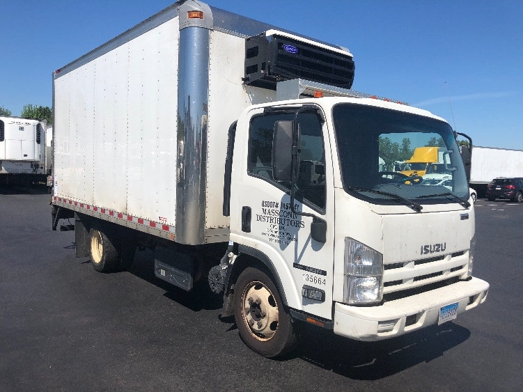 Reefer Truck-Light and Medium Duty Trucks-Isuzu-2015-NQR-WESTFIELD-MA-200,574 miles-$25,250
