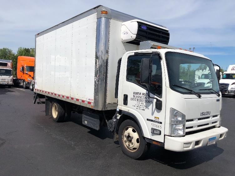 Reefer Truck-Light and Medium Duty Trucks-Isuzu-2015-NQR-CHICOPEE-MA-179,453 miles-$27,250