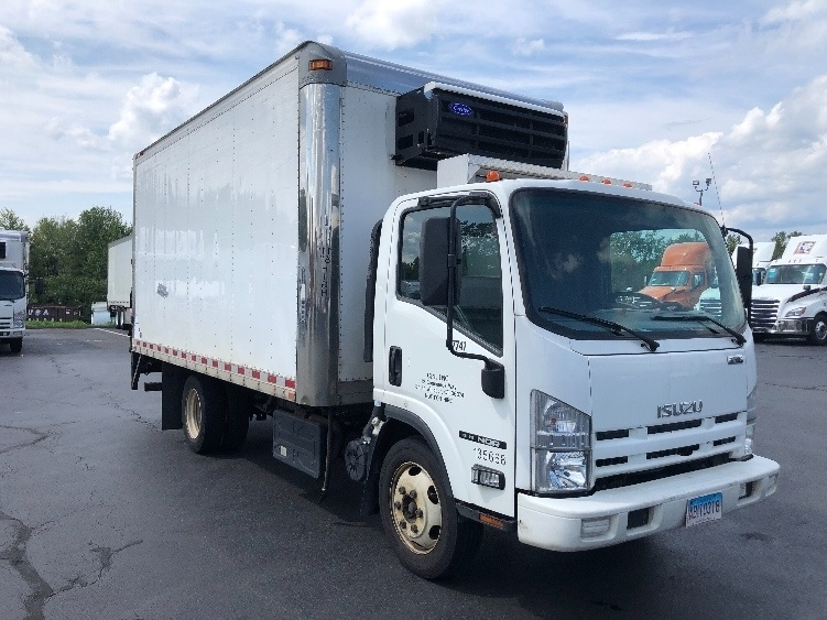 Reefer Truck-Light and Medium Duty Trucks-Isuzu-2015-NQR-CHICOPEE-MA-160,779 miles-$28,750