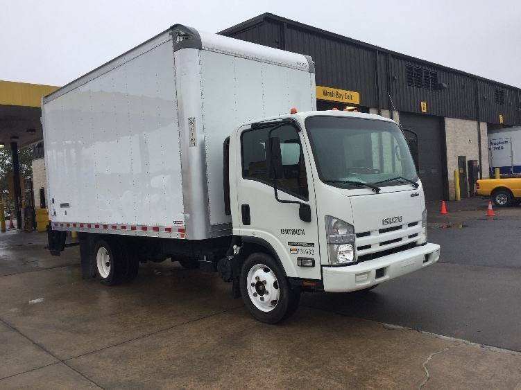 Medium Duty Box Truck-Light and Medium Duty Trucks-Isuzu-2015-NPR EFI-LITTLE ROCK-AR-99,498 miles-$30,500