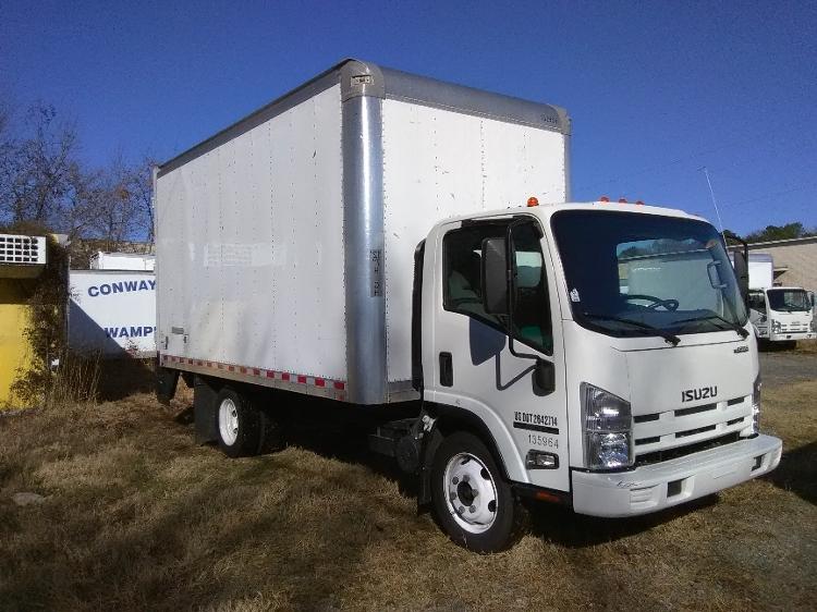 Medium Duty Box Truck-Light and Medium Duty Trucks-Isuzu-2015-NPR EFI-LITTLE ROCK-AR-160,150 miles-$22,500